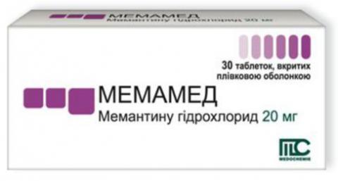 мемамед таб. п/об. 20 мг №30