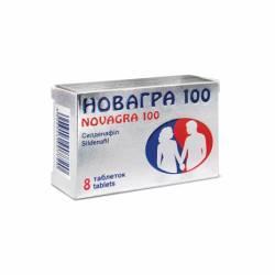 новагра таб. п/об. 100 мг №8