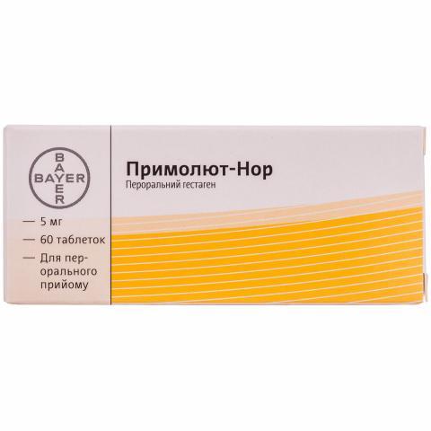 примолют-Нор таб. 5 мг №60