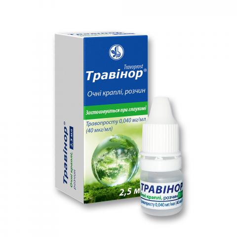 травинор к-ли глазн. 0,04 мг/мл 2,5 мл фл. поліп. с капельн.