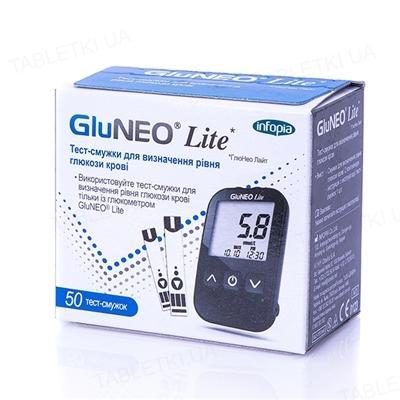 тест-полоски Gluneolite д/опред.глюкозы в крови №50