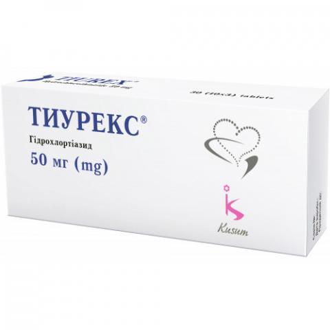 тиурекс таб. 50 мг №90