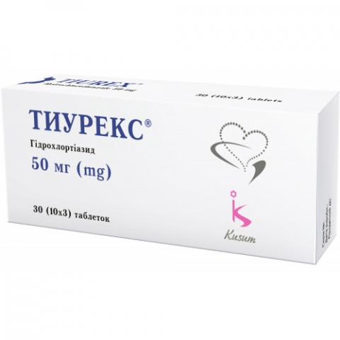 тиурекс таб. 50 мг №30